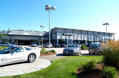 Mercedes Benz dealership, Route 1, Lynnfield, MA